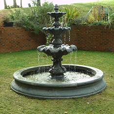 europe style large 3 tier water fountain