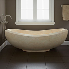 Egypt cream massage bathtub for bathroom used