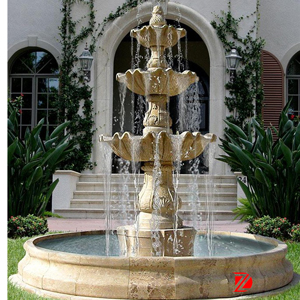 Watering garden fountain sculpture