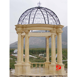 Yellow marble gazebo