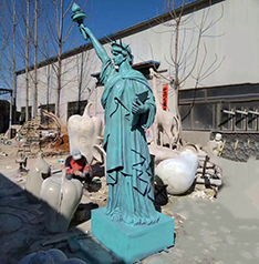 Life size Statue of Liberty sculpture