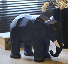 Unique style fiberglass elephant statue for home decoraion