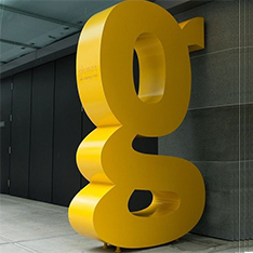 All kinds of custom made letters stainless steel sculptures